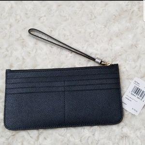 Coach Bags - Coach Top Zip Colorblock Wallet
